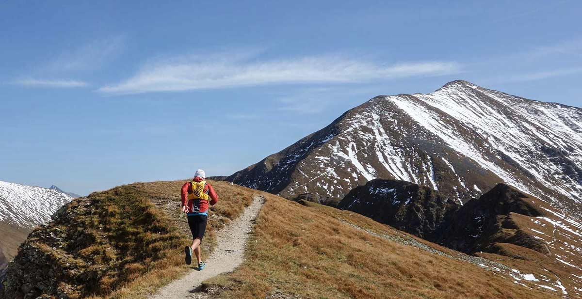 Grivel Mountain runner light 5l in western tatras during running